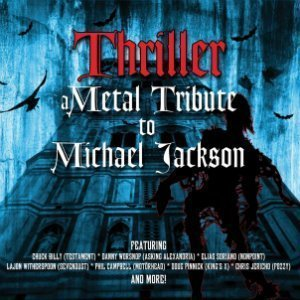 "image for article ""Thriller - A Metal Tribute To Michael Jackson"" - Members of Whitesnake, Queensryche, Guns N' Roses, Motörhead and More [YouTube Album Stream]"