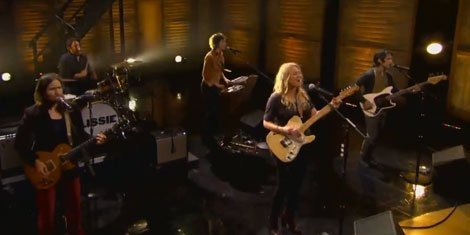 """Further Away (Romance Police)"" - Lissie on Conan 11.19.13 [YouTube Video]"
