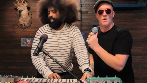 "image for article ""Taxidermy Love"" - Reggie Watts & Josh Homme [IFC YouTube Video]"