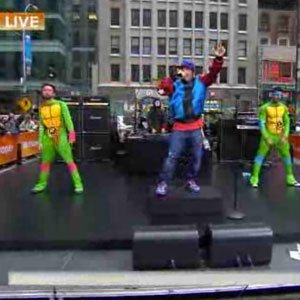 "image for article ""Ice Ice Baby"" - Vanilla Ice with Ninja Turtles on Today Show [NBC Video]"
