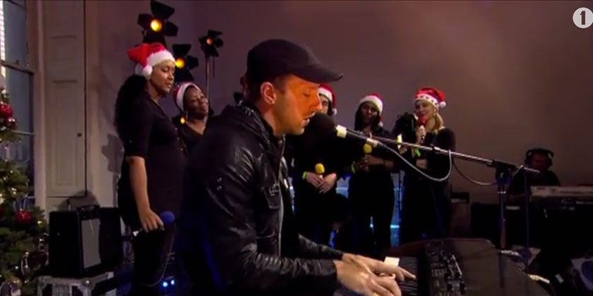 """White Christmas"" - Coldplay Live in the BBC Live Lounge 12.19.2013 [YouTube Video]"