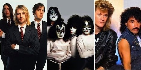nirvana-kiss-hall-and-oates-rock-and-roll-hall-of-fame