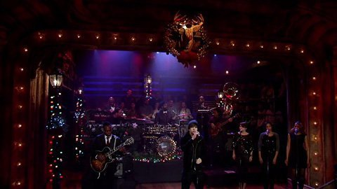 "image for article ""Silent Night"" - Austin Mahone & The Roots on Jimmy Fallon [YouTube Video]"