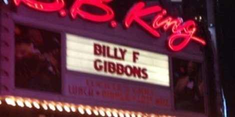 image for article Billy Gibbons & Friends at B.B. King Blues Club in Times Square, NYC 12.17.2013 [Zumic Review]