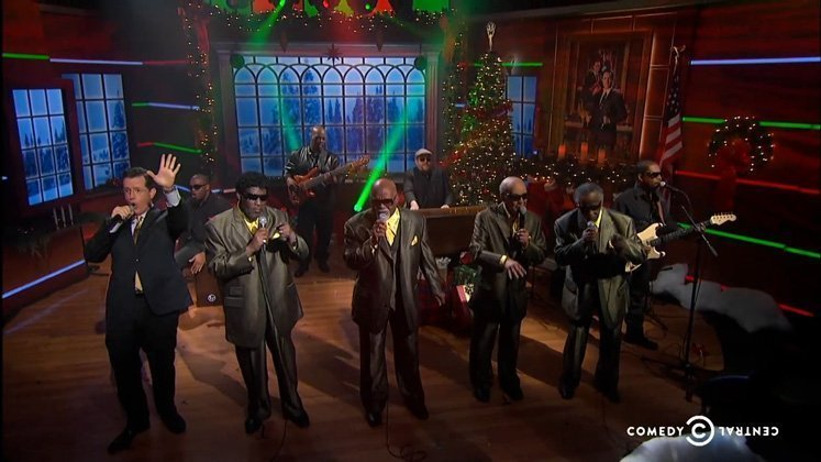 "image for article ""Go Tell It on the Mountain"" - Blind Boys of Alabama ft Stephen Colbert [Official Video]"
