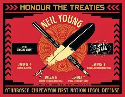 image for article Neil Young 2014 Tour Dates Emerge; Diana Krall to Open Solo Shows, More Crazy Horse European Dates Expected