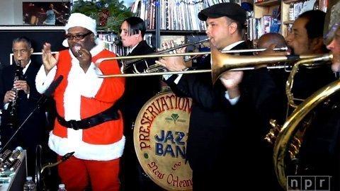 preservation-hall-jazz-band-npr-tiny-desk-concert-video-santa-2013