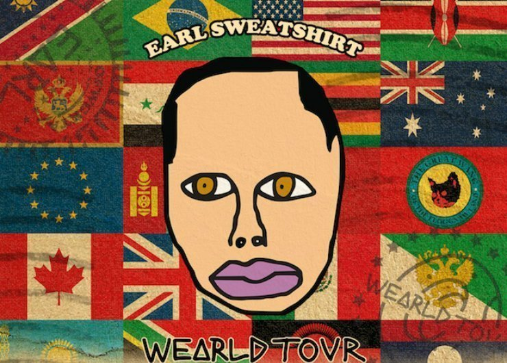 "image for article Earl Sweatshirt 2014 ""Wearld Tour"" Dates Announced"