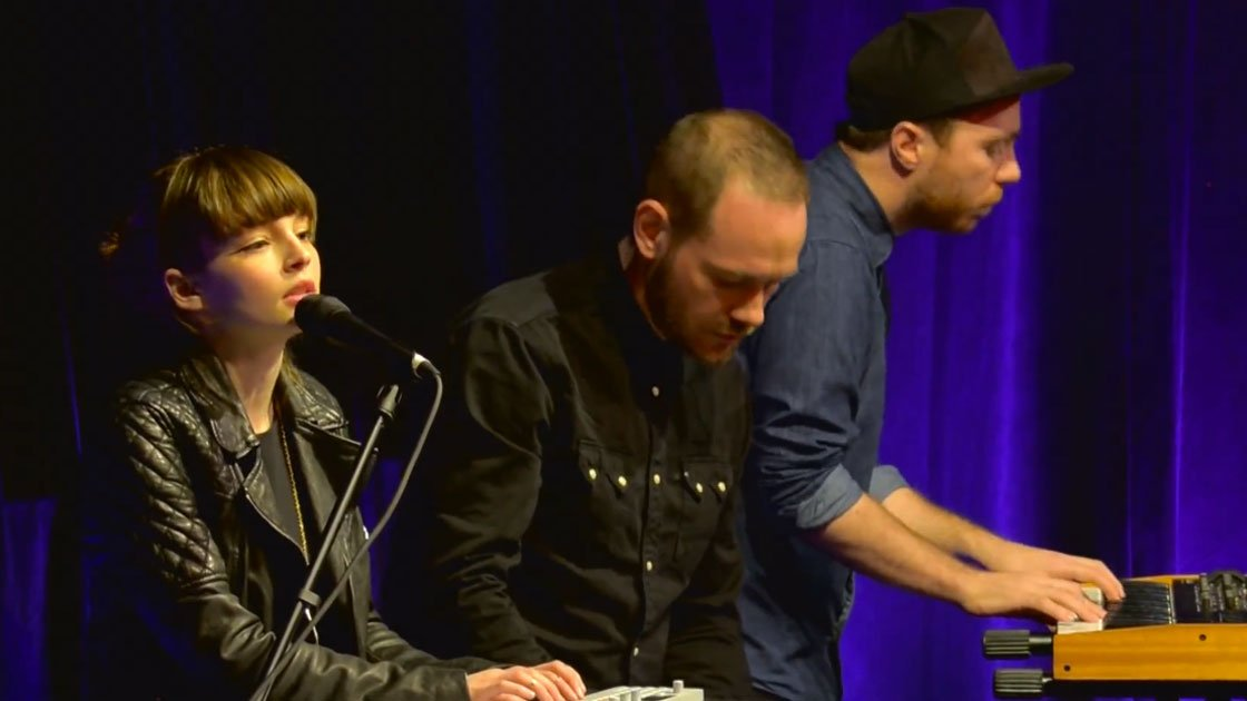 image for article Chvrches Live at Billboard Women in Music 2013 [YouTube Videos]