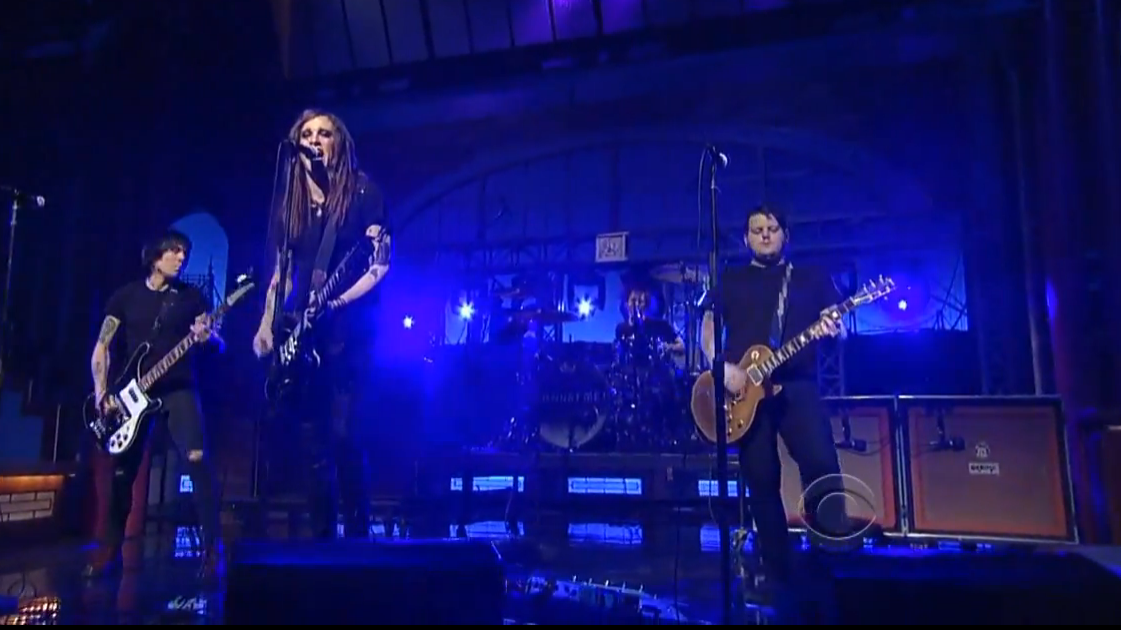 "image for article ""Fuckmylife666"" - Against Me! on David Letterman 1.29.2014 [YouTube Video]"