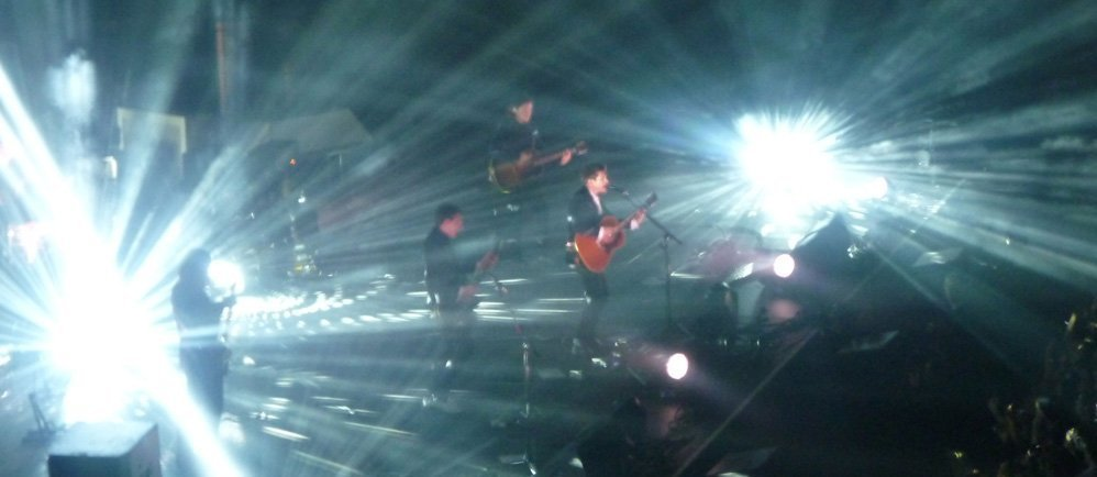 Arctic-Monkeys-Madison-Square-Garden-NYC-Beatles-All-Your-Loving-2014