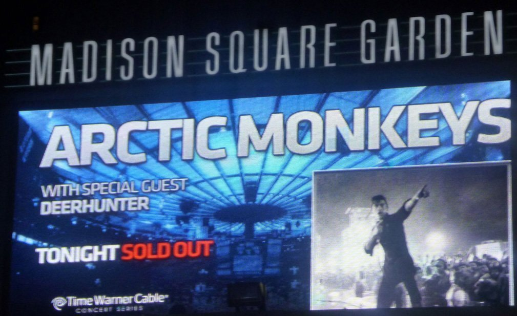 Arctic-Monkeys-marquee-Madison-Square-Garden-nyc-2-8-14