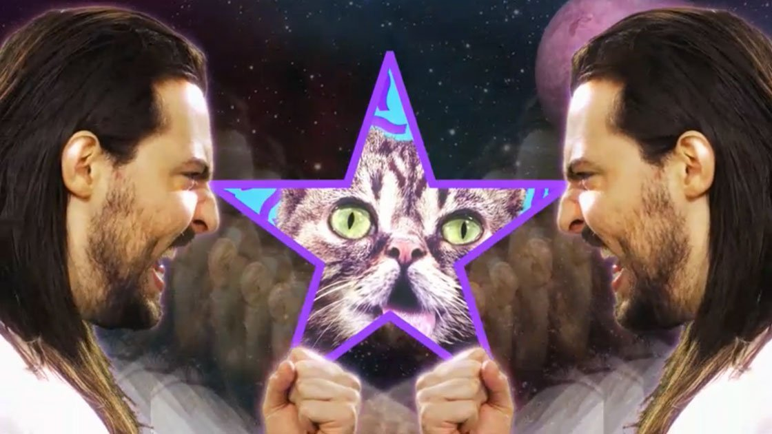 "image for article ""Star Party Animal"" - Andrew W.K. ft Lil Bub [Official Music Video]"