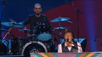 hey-jude-beatles-50th-anniversary-cbs-tv-video-paul-mccartney-ringo-starr-2014