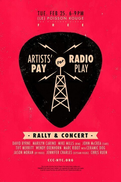 Artists-Pay-for-Radio-Play-Le-Poisson-Rouge-NYC-poster-2014