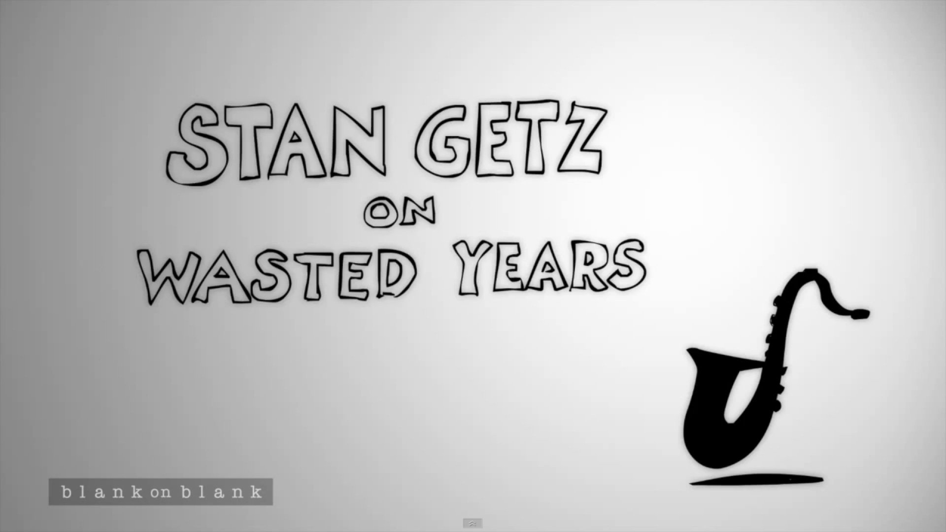 stan-getz-wasted-years-blank-on-blank-interview-youtube-video