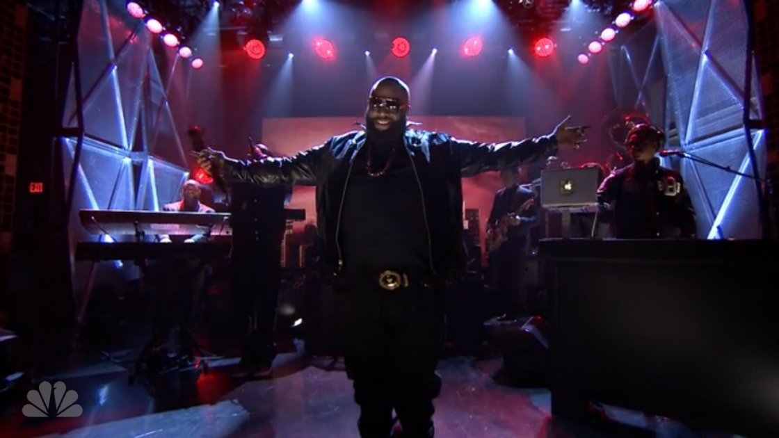 "image for article ""The Devil is a Lie"" - Rick Ross Live on Jimmy Fallon 2.24.2014 [Hulu Video]"