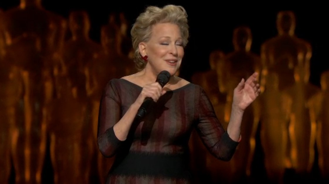 "image for article ""Wind Beneath My Wings"" - Bette Midler Oscars Performance 3.2.2014 [Official Video]"