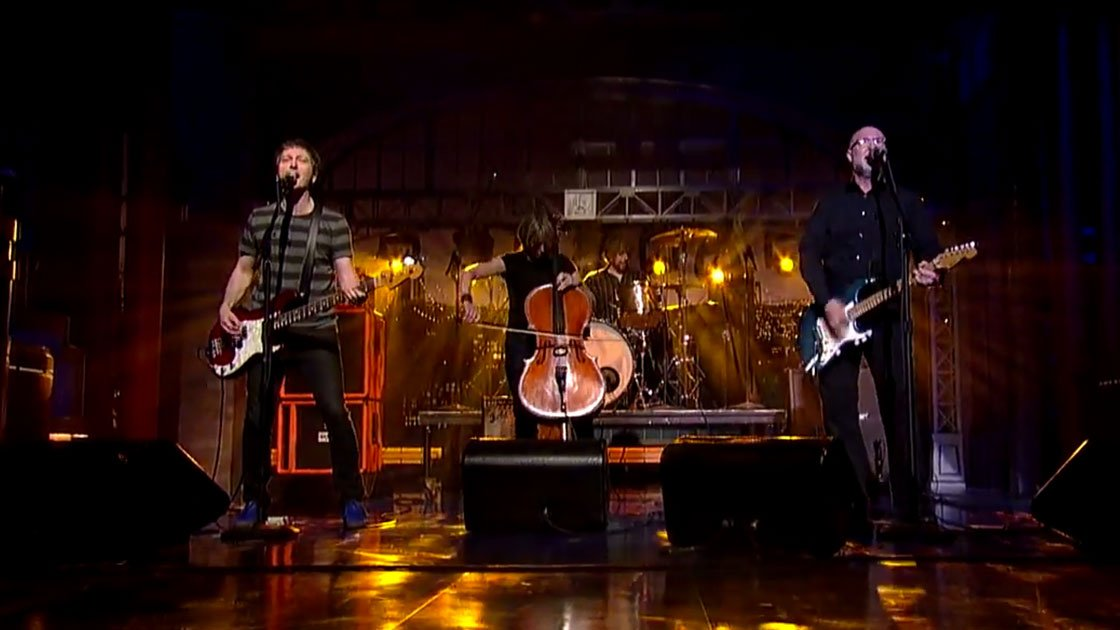 "image for article ""See A Little Light"" - Bob Mould Live on David Letterman 3.6.2014 [YouTube Video]"