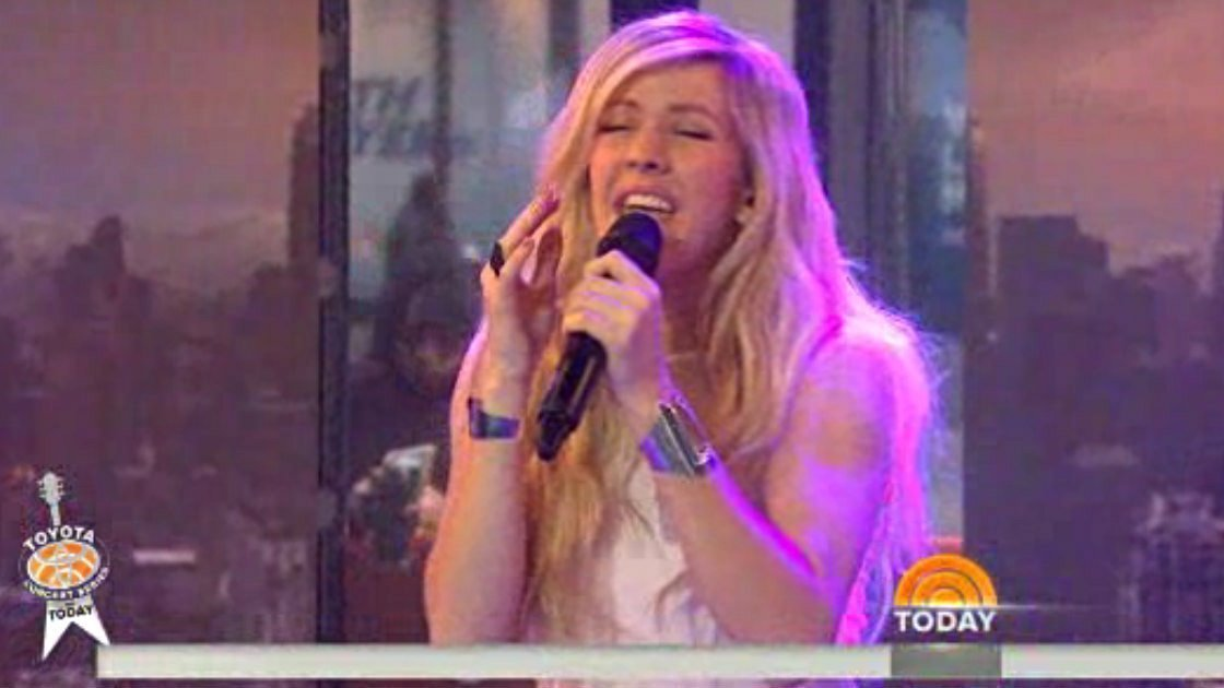 "image for article ""Beating Heart"" - Ellie Goulding on Today 3.12.2014 [Official Video]"