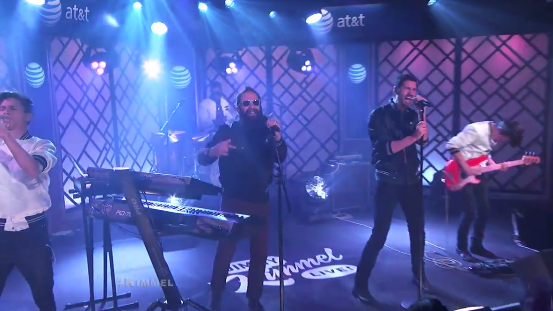 "image for article ""One Minute More"" - Capital Cities on Jimmy Kimmel Live! 3.18.2014 [YouTube Video]"