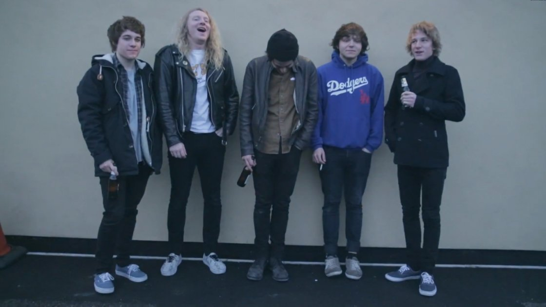 "image for article ""Let It Burn"" - The Orwells [YouTube Official Music Video]"