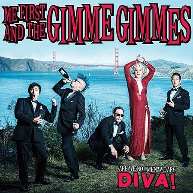 "image for article ""Beautiful"" - Me First and the Gimme Gimmes (Christina Aguilera Cover) [YouTube Audio Stream]"