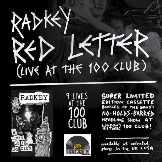 "image for article ""Red Letter"" - Radkey Live at The 100 Club 3.5.2014 [YouTube Audio Single]"