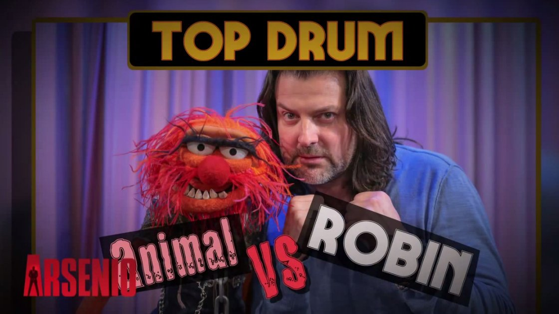 robin-dimaggio-animal-drum-battle-arsenio-hall-3-7-2014