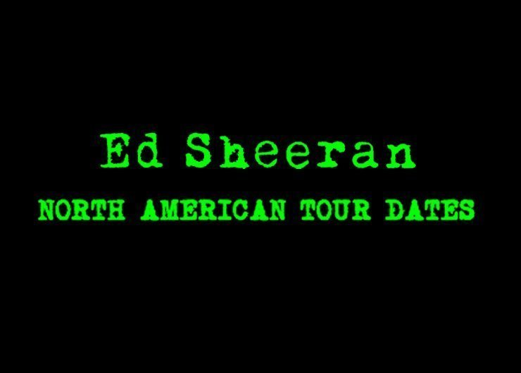 image for article Ed Sheeran 2014 Tour Dates & Ticket Pre-Sale Announced