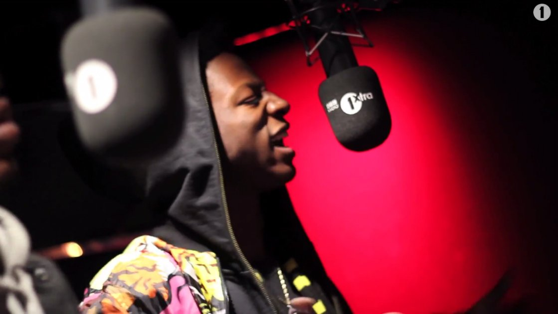 "image for article ""Fire in the Booth"" Freestyle - Joey Bada$$ & Kirk Knight Live on BBC Radio 1 [YouTube Video]"