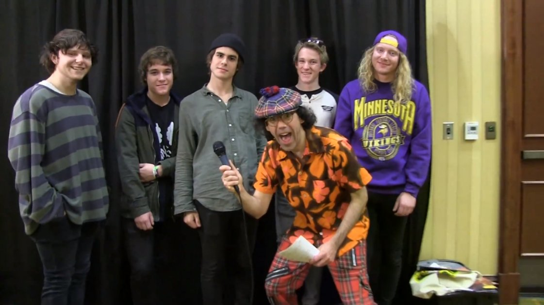 image for article The Orwells Talk About Iggy Pop and Their Rap Song with Nardwuar [YouTube Video]