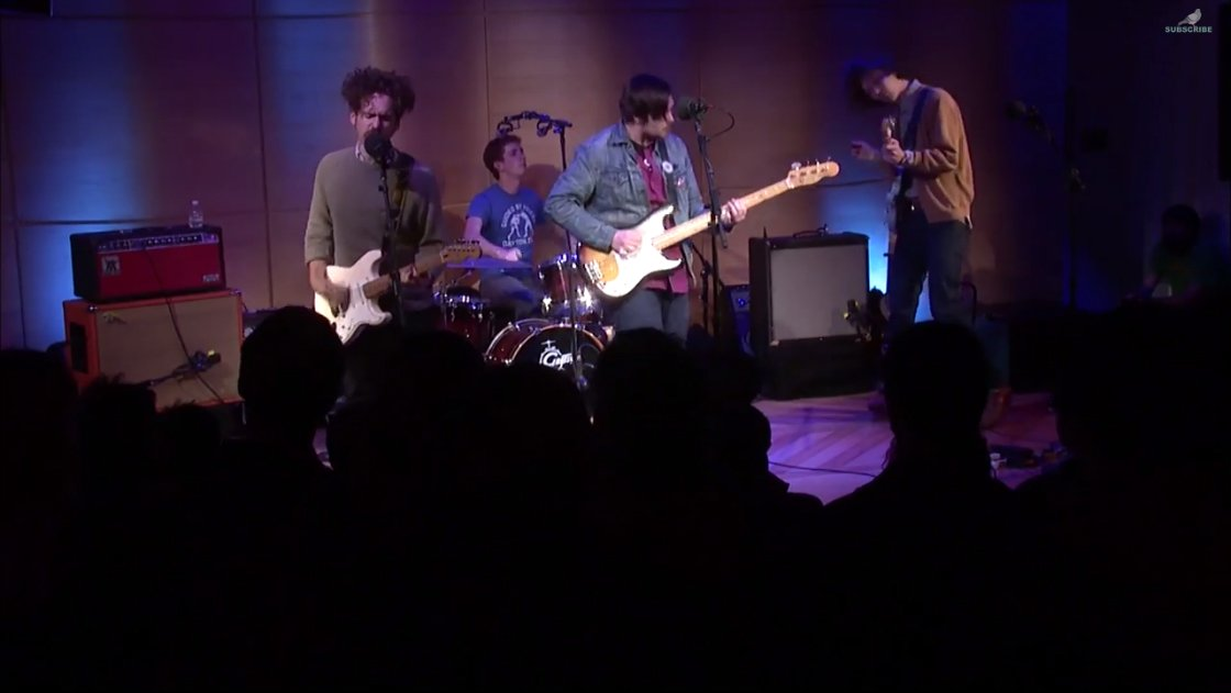 image for article Parquet Courts Live at WNYC's Gigstock 4.9.2014 [YouTube Videos]
