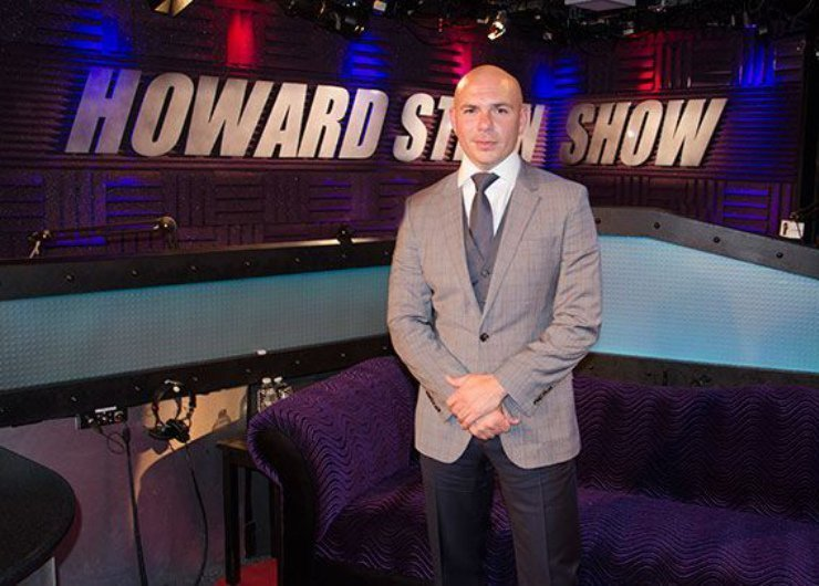 image for article Pitbull Talks Sex, Family, Fighting, Money, and More on Howard Stern [Full Interview - Audio & Free Download]
