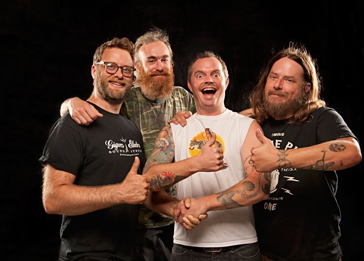"image for article Red Fang 2014 ""Situation: Awesome"" Tour Dates and Ticket Info Announced"
