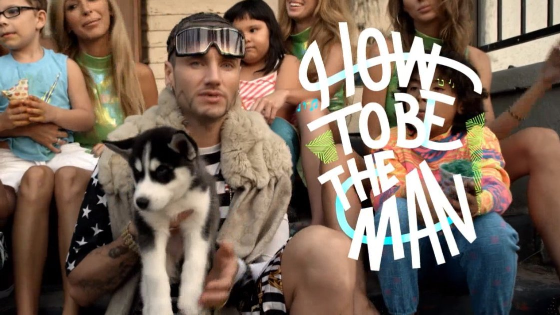 how to be the man riff raff