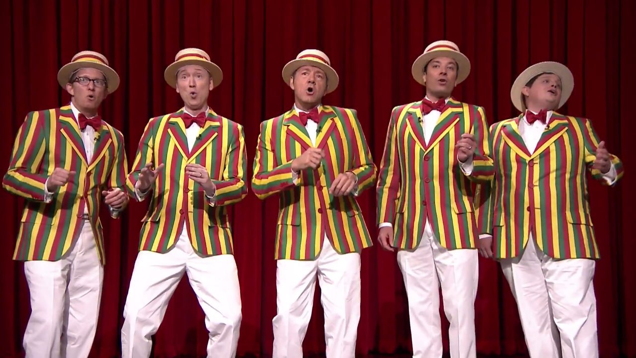 "image for article ""Talk Dirty"" - Jimmy Fallon's Ragtime Gals ft Kevin Spacey (Jason Derulo Cover) [YouTube Official Video]"