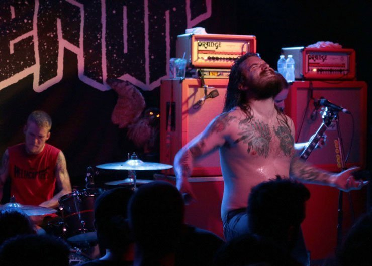 image for article Kvelertak Tore the Roof Off Saint Vitus in Brooklyn, NYC 5.14.2014 [Zumic Review + Photos]