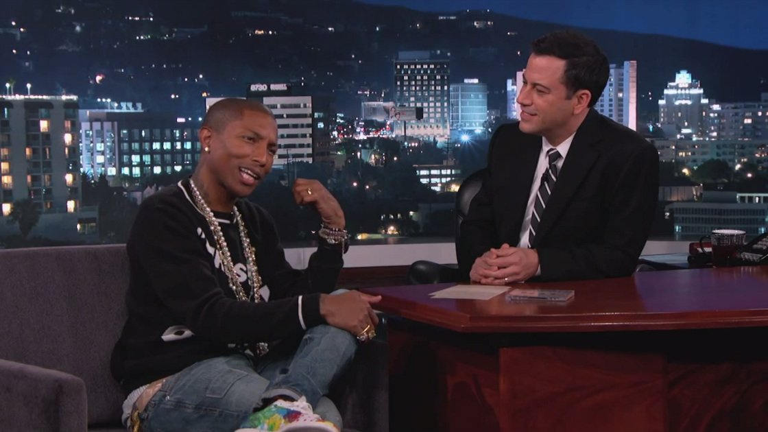pharrell-williams-jimmy-kimmel-live-interview-2014