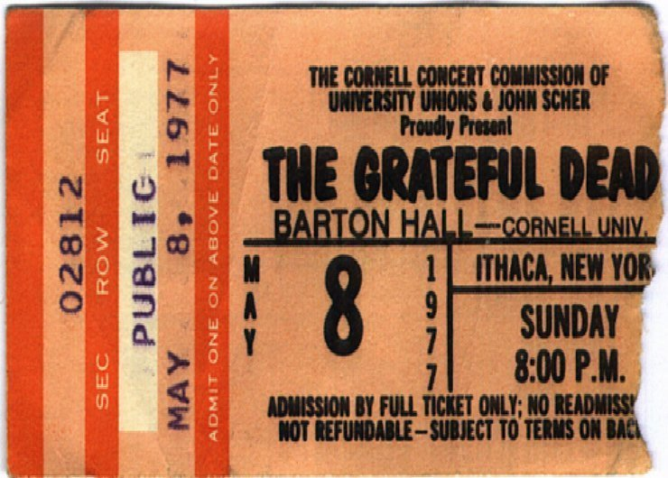 image for article Did the Grateful Dead Play Their Best Show Ever on 5.8.1977 at Barton Hall, Ithaca, New York? [Archive Audio Stream + Pics]