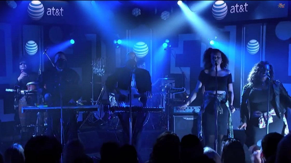 "image for article ""Busy Earnin'"" & ""Time"" - Jungle Live on Jimmy Kimmel 6.16.2014 [YouTube Videos]"