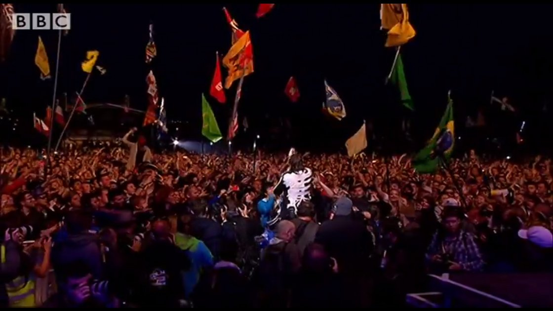 image for article Arcade Fire at Glastonbury 6.27.2014 [YouTube Video + Setlist]