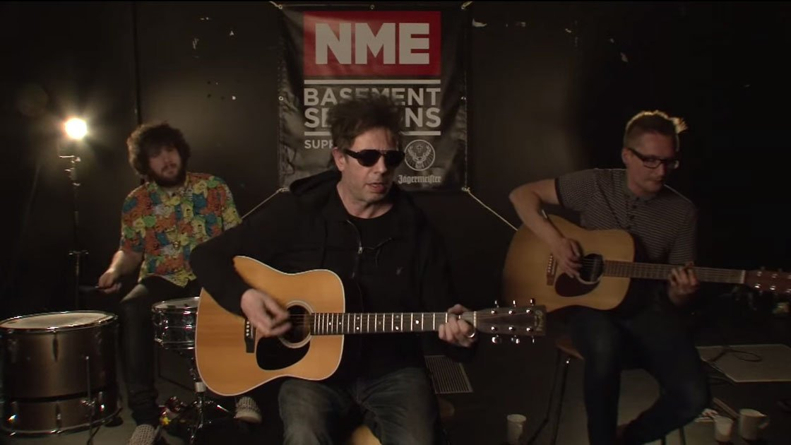 "image for article ""I'm Waiting For The Man"" - Echo and The Bunnymen (Velvet Underground Cover) on NME Basement Sessions 6.11.2014 [YouTube Video]"