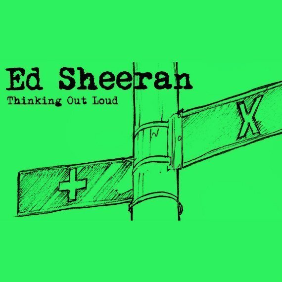 "image for article ""Thinking Out Loud"" - Ed Sheeran [YouTube Audio Single + Lyrics]"