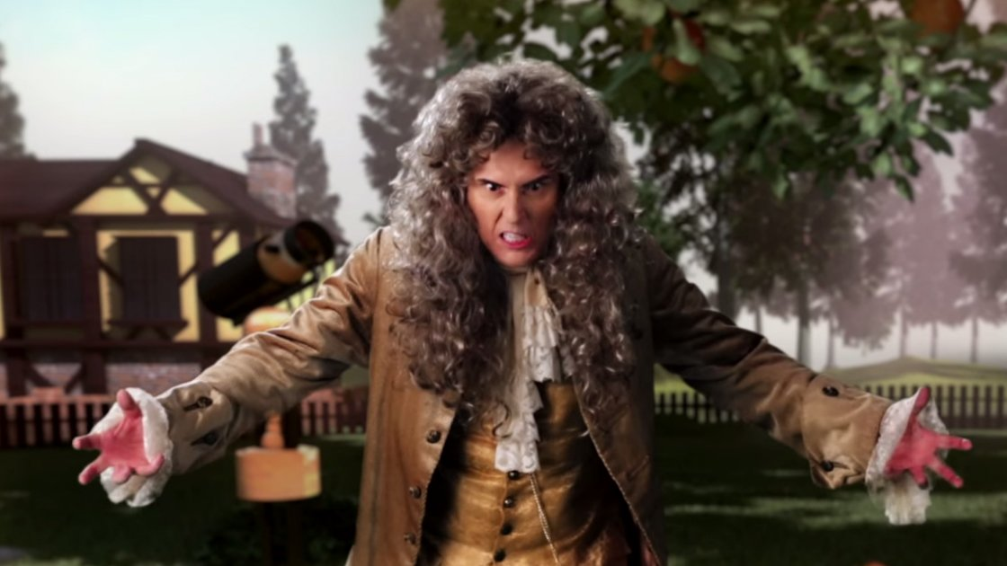 "image for article ""Sir Isaac Newton vs Bill Nye"" - Epic Rap Battles of History ft Weird Al & Chali 2na [YouTube Official Music Video + Lyrics]"