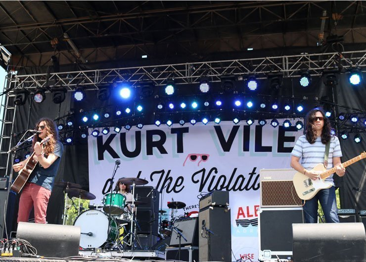 image for article Kurt Vile and the Violators Live at Governors Ball 6.6.2014 [Recap + Photos]