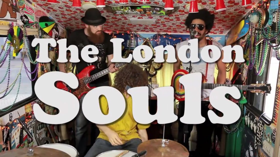 image for article The London Souls Perform Live in New Orleans with Jam in the Van 4.26.2014 [YouTube Videos]