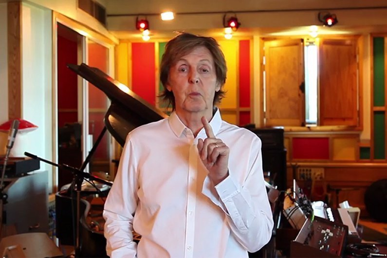image for article Paul McCartney Shares YouTube Video To Confirm Rescheduled 2014 USA Shows