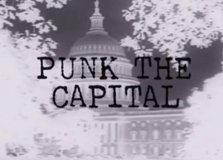 "image for article 10 Questions With Director of ""Punk The Capital,"" Film About DC Hardcore Featuring Members of Minor Threat, Bad Brains, and More"