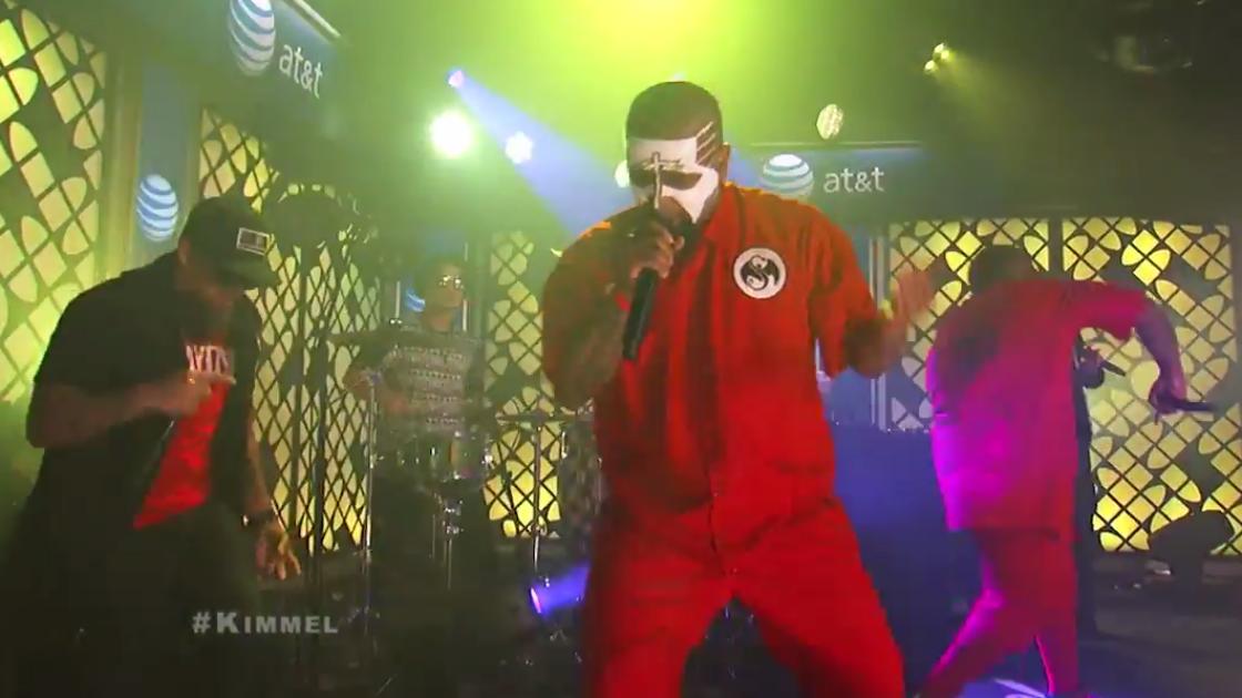 Tech N9ne on Jimmy Kimmel Live 6 24 2014 [YouTube Video